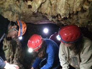 CAMN Class members at Wildflower Cave, photo by Ryan Lassiter (Class 2015)