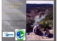 Geology Presentation 2019